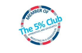 The 5% Club Apprentices and Graduates