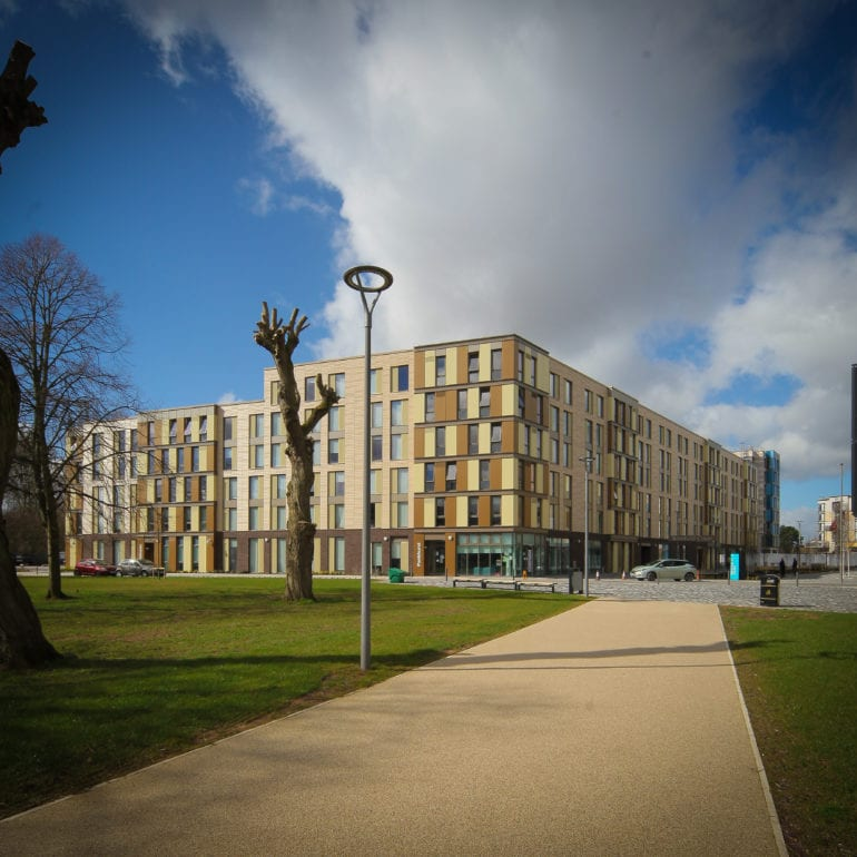 HE Simm Completes £14.3m MEP Student Village Project At The University Of Hull