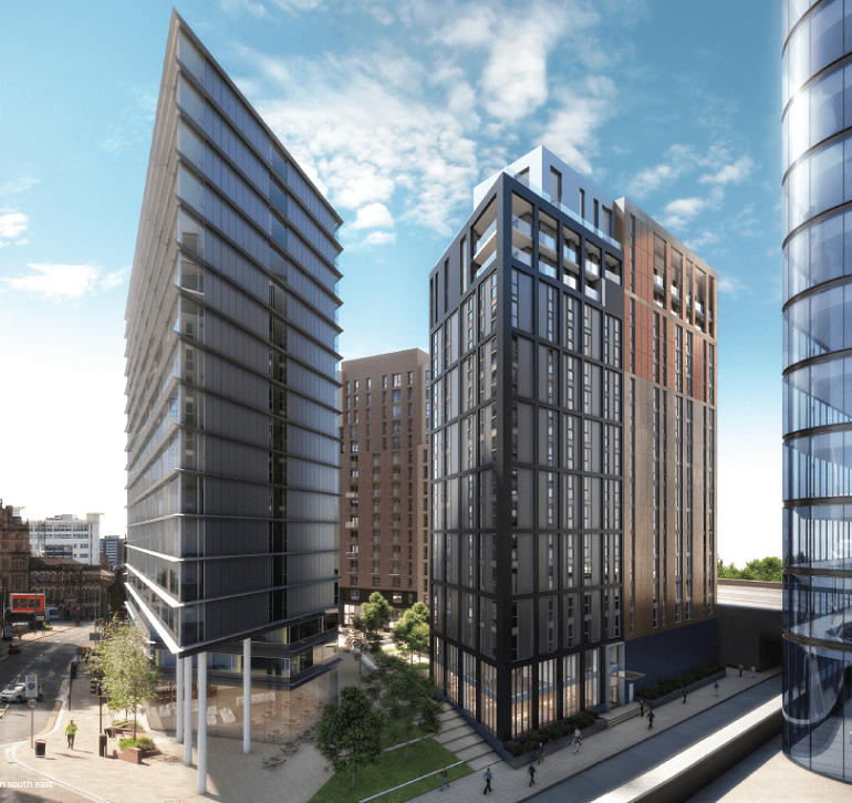 HE Simm To Deliver £11m MEP Installation At  Embankment West, Manchester
