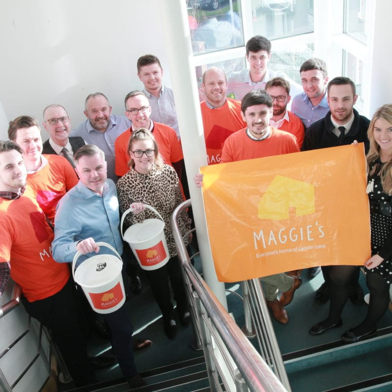 HE Simm Pledges To Raise £30,000 For Maggies Cancer Centres